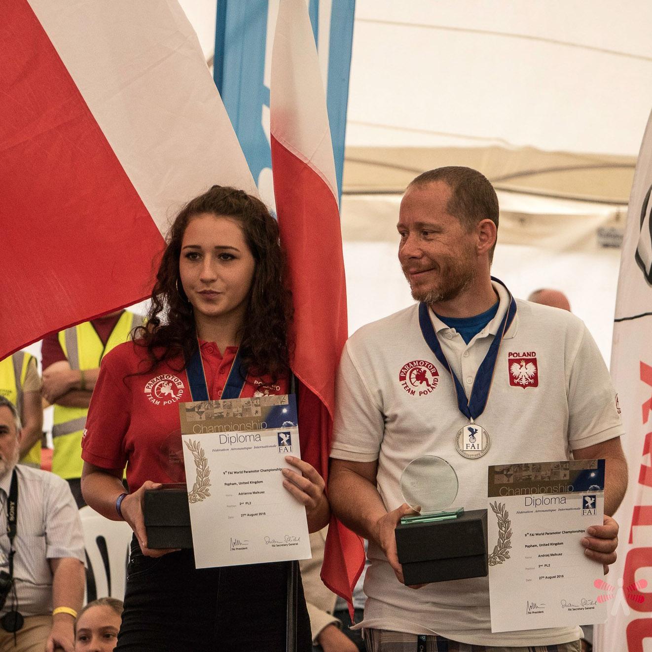 Andrzej Malkusz, Adrianna Malkusz