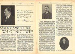Szkoły Zawodowe w Lotnictwie 1930